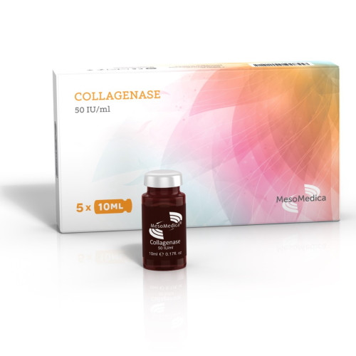 MesoMedica Collagenase 50 IU/ml (5x10ml)