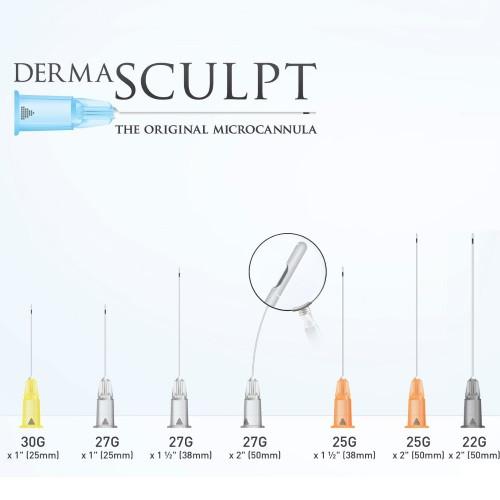 20 DermaSculpt cannulas