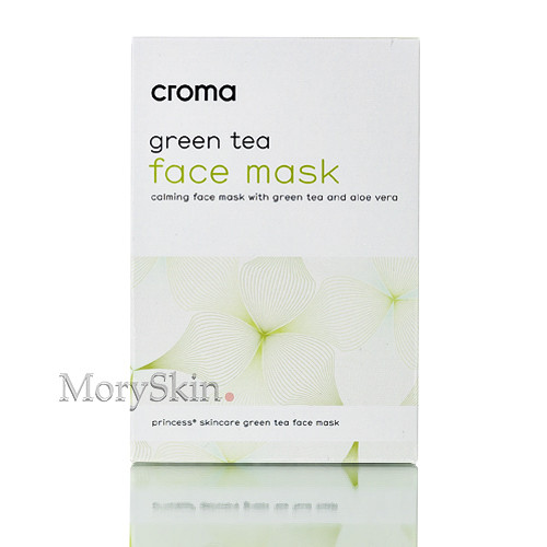 8x Croma® Green Tea Face Mask